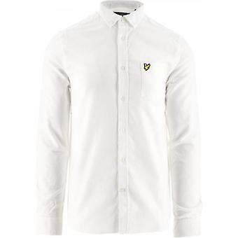 Chemise Lyle & Scott White Regular Fit Lightweight Oxford