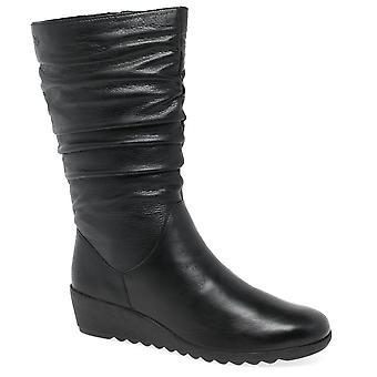 Caprice Bettina Womens Calf Length Boots