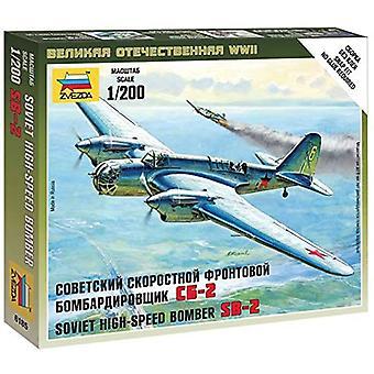 Zvezda Z6185 Sovjet Bommenwerper Sb-2 Model Kit