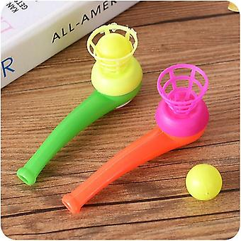 Magic Floating Ball Game Kids, Kids Party Favor Blow Pipe Balls Pinata Toy