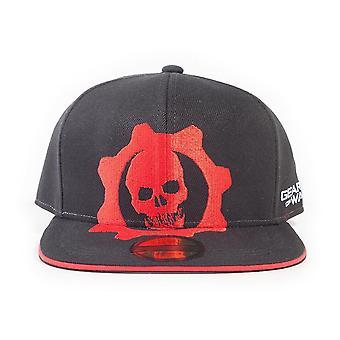 Gears Of War 5 Red Helmet Snapback Baseball Cap Zwart/Rood (SB862585GW5)