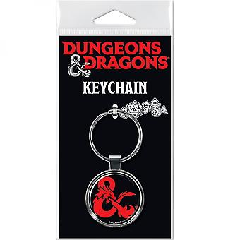 Dungeons & Dragons Logo Keychain