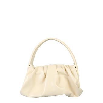 Themoirè Tmw20hn7 Women's White Polyurethane Shoulder Bag
