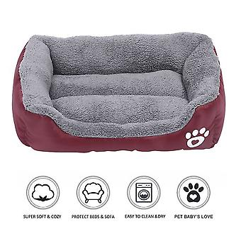Pet Dog Cat Bed Soft Warm Kussen Puppy Kennel Mat Deken Wasbaar