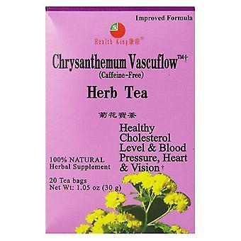 Health King Chrysanthemum Vascuflow Herb Tea, 20bg