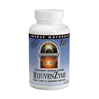 Quelle Naturals Vegetarian RejuvenZyme, 500 Kapseln