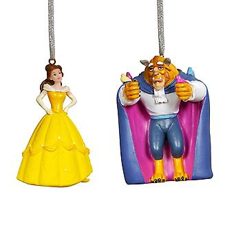 Disney Beauty and the Beast 3D Hanging Decoration Set