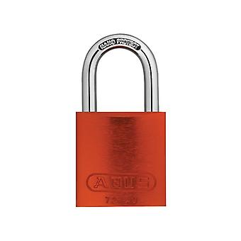 ABUS 72/40mm Aluminium Padlock Orange Keyed Alike TT02767 ABUKA45244