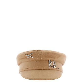 Ruslan Baginskiy Kpc036beige Women's Beige Wool Hat