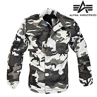 新阿尔法工业 usa 军事军队 M65 夹克