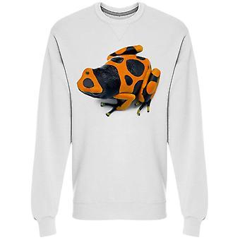 Frog With Spots Sweatshirt Men's -Image by Shutterstock