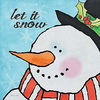 Lumiukko olen Juliste Tulosta, jonka Stephanie Marrott