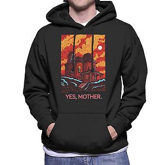 Psycho Bates Home Yes Mother Men's Moletom Encapuzado