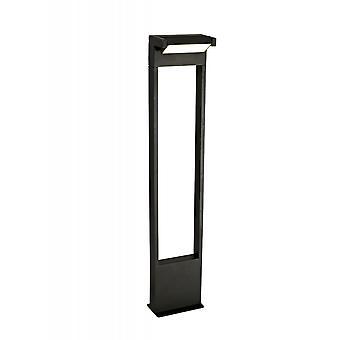 Ottilie Tall Post, 10w Led, 3000k, 720lm, Ip54, Graphite Black, 3yrs Warranty