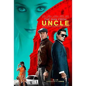 The Man from U.N.C.L.E. Original Movie Poster Double Sided Regular
