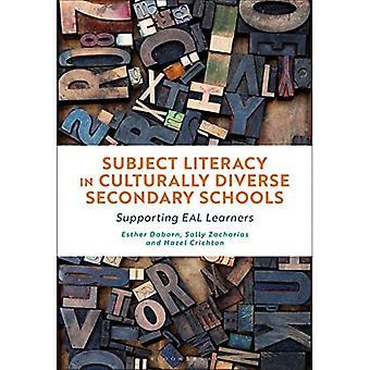 Alfabetización de asignaturas en escuelas secundarias culturalmente diversas