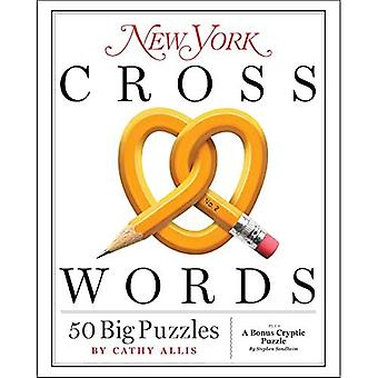 New York Kruiswoordraadsels: 50 grote puzzels