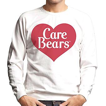 Care Bears Kjærlighet Hjerte Logo Menn&ampos;s Sweatshirt