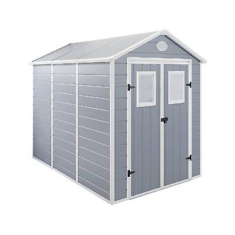 "Caseta de jardín "" Texas"" - 5.23 m² - 278 x 188 x 225 cm - Grau"