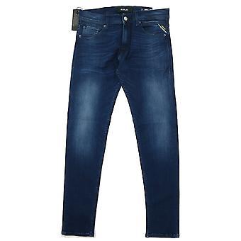 Replay Jondrill Hyperflex Dark Blue Slim Jeans