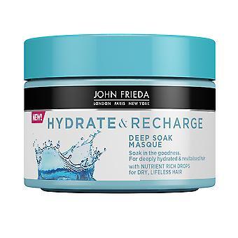 John Frieda Hydrate & Recharge Mask 250 Ml För Kvinnor