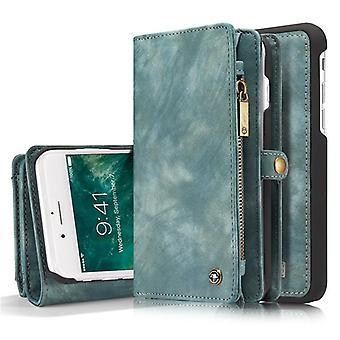 בציר עור מקרה עבור iphone 12 11 Pro Max X Xr 6 6s 8 7 פלוס - מגנטי,
