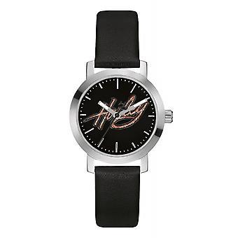 Harley Davidson 76L175 Women's Glitter Harley Script Wristwatch