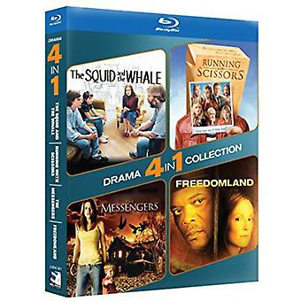 Drama 4-Pack - Squid & the Whale / Running with [BLU-RAY] USA import