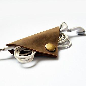 Porte-winder en câble en cuir fait main