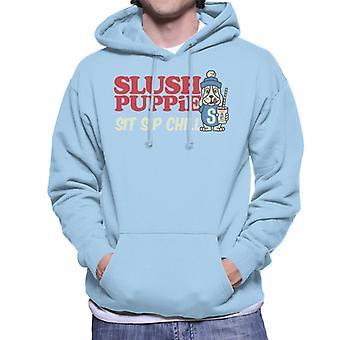 Slush Puppie Sit Sip Chill Men's Hooded Sweatshirt