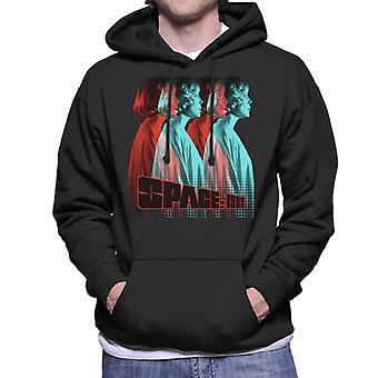 Space 1999 Helena Silhouette Men's Hooded Sweatshirt
