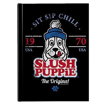 Slush Puppie Retro Sit Sip Chill Hardback Journal