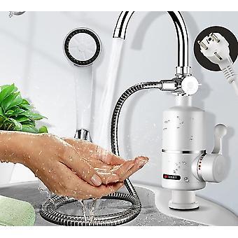 Sähkö keittiö vedenlämmitin hana Instant Kuuma vesi Hana lämmitin
