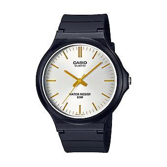 Herenhorloge Casio Mw-240-7e3vef - Zwarte R sinus armband