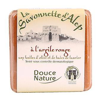 Aleppo soap with red clay 100 g