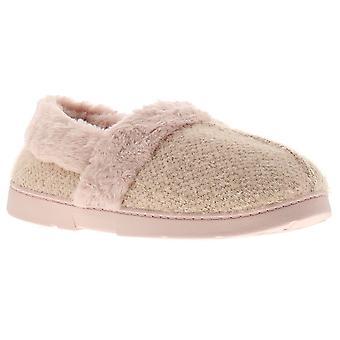 Dr Keller dee womens ladies full slippers pink UK Size