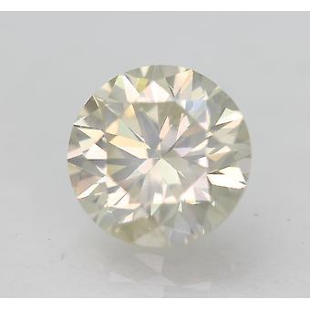 Certified 1.03 Carat J SI1 Round Brilliant Natural Loose Diamond 6.36mm EX CUT