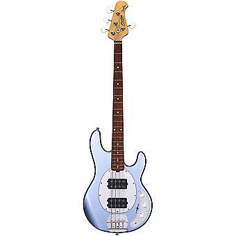 Sterling por music man 4 string bass, right, lake blue metallic (ray4hh-lbm-r1)
