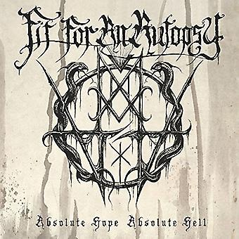 Fit for an Autopsy - Absolute Hope Absolute Hell [CD] USA import