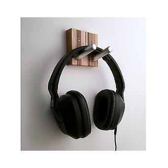 Modern Headset Hooks Of Wood And Metal
