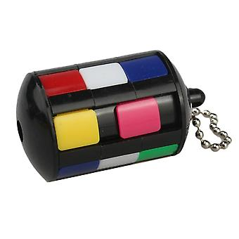 Puzzle Cube With Keychain (multi)