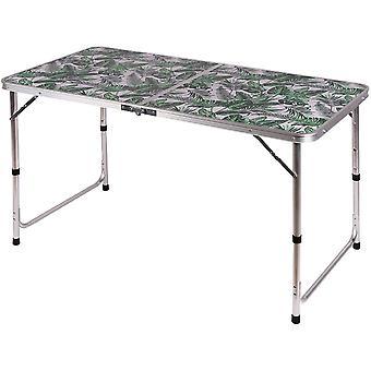 Kempingový stôl skladací 120x60x54,5 / 70cm