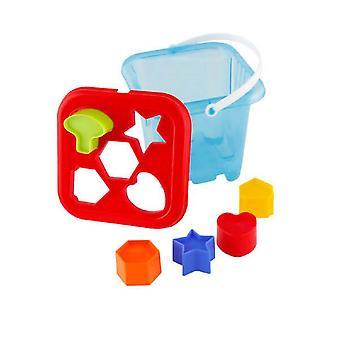 Pilsan plug-in box 03239 sortering spel, form sortering spel, fem former