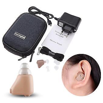 Accueil rechargeable mini invisible soins de l'oreille sans fil surdité son amplificateur vocal aide auditive pour les personnes âgées sourdes adultes