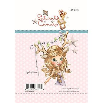 Little Darlings Spring Fawn - Clear Stamps