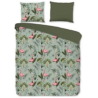 bed cover Mila 220 x 200 cm cotton green