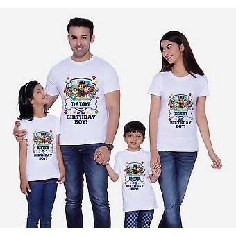 Dog Print T-paidat, Perhevaatteet, Lyhythihainen T-paita