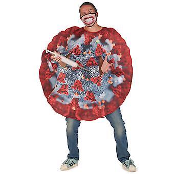 Déguisement virus adulte