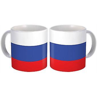 ספל מתנה: דגל רוסיה