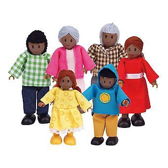 Hape HAP-E3501 moderne familie (African American)